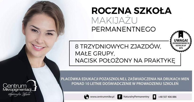 Roczna Szkoła Makijażu Permanetnego