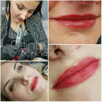 usta makijaż permanentny