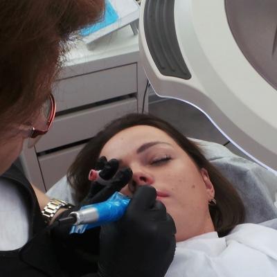 szkolenie z makijażu permanentnego usta Warszawa