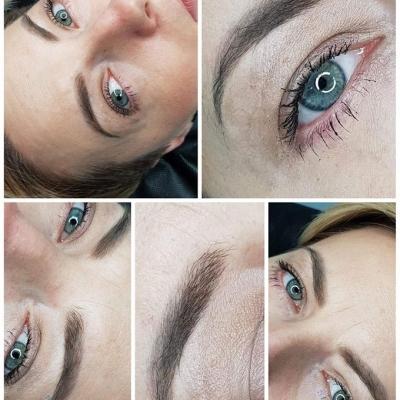 brwi po wygojeniu makijaż permanentny