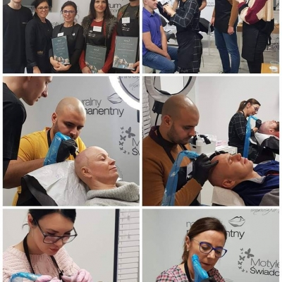 Szkolenie z mikropigmentacji skóry głowy Warszawa
