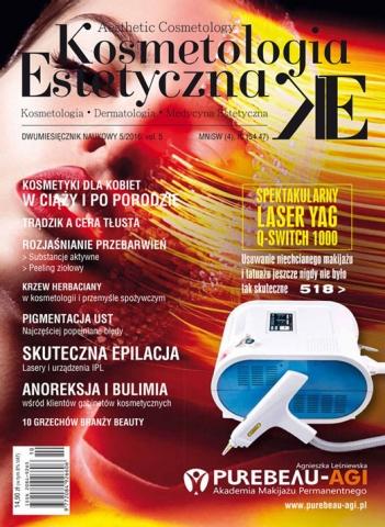 Pigmentacja ust artykuł w Kosmetologii