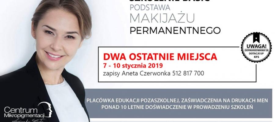 szkolenie makijaż permanentny podstawa Warszawa